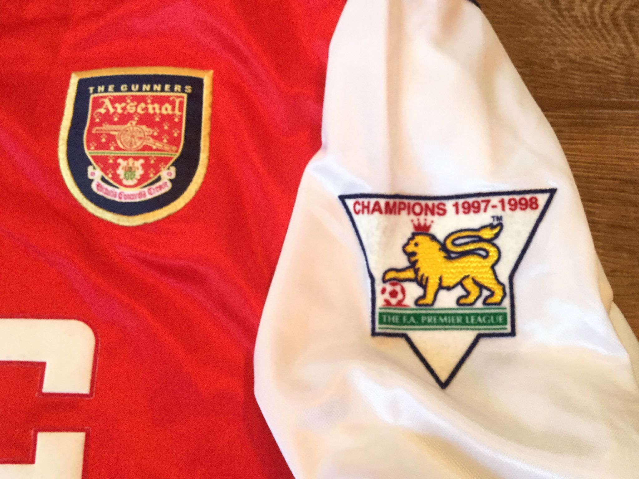 f7a4e2439 Global Classic Football Shirts   1998 Arsenal   Vintage Retro Old Soccer  Jersey
